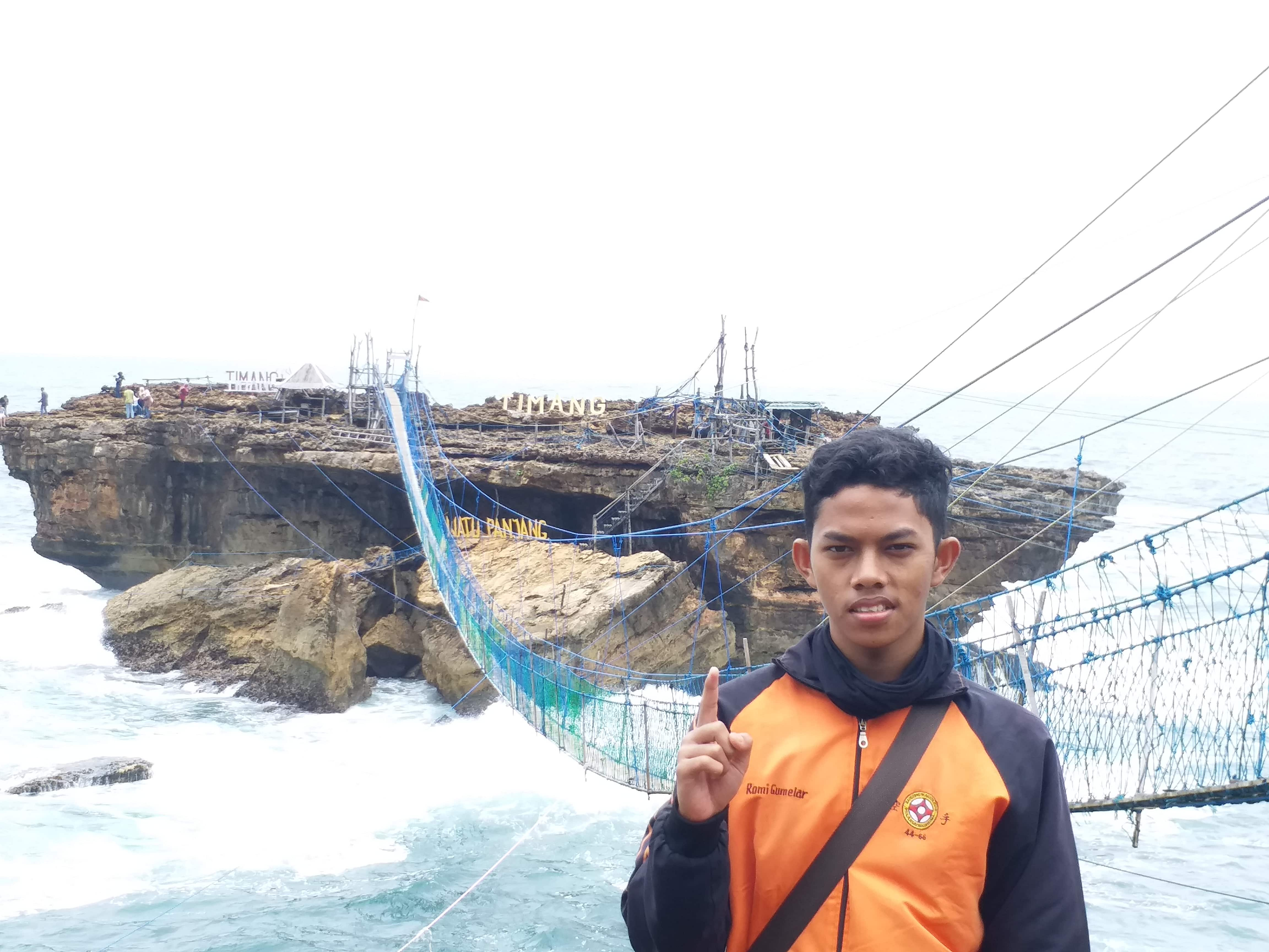 Jembatan Pantai Timang sumber Rihlah Dakwah 4