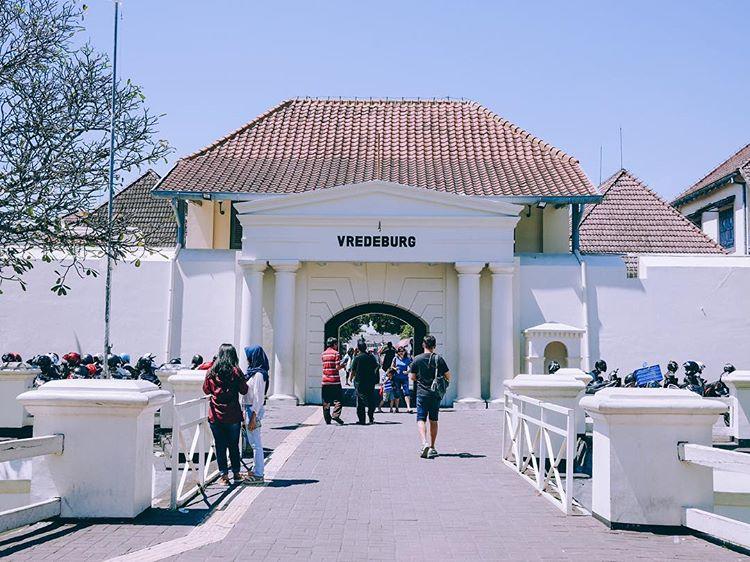 Museum Benteng Vredeburg sumber ig @ci.chill