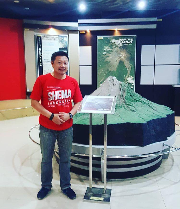 Museum Gunung Merapi sumber ig @andiwiguno