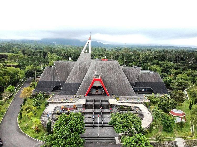 Museum Gunung Merapi sumber ig @ian_5.10