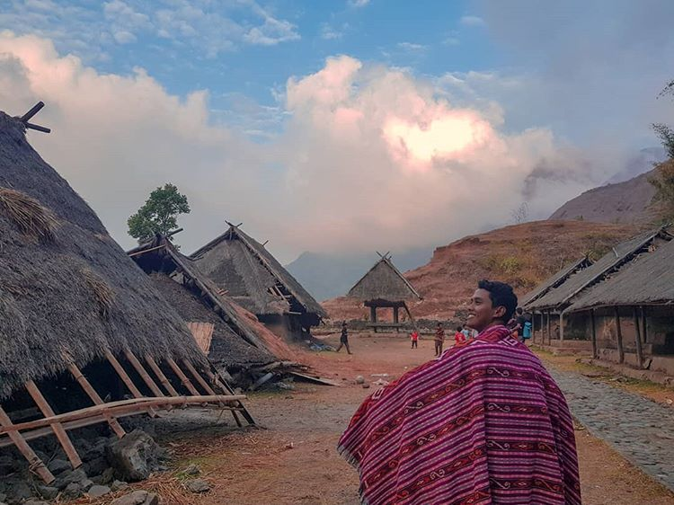 Desa Beleq sumber ig @pratamaarga15