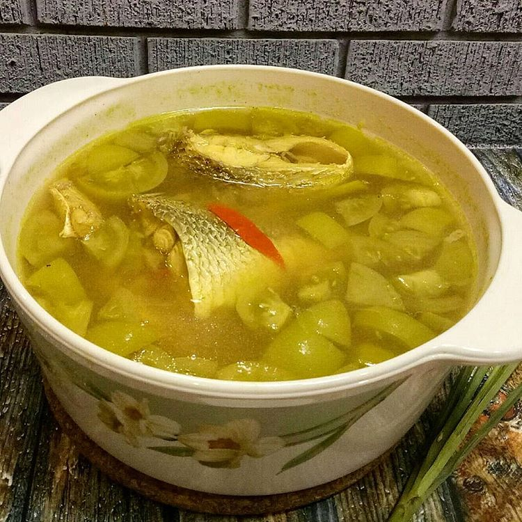 Ikan kuah asam khas Nusa Tenggara Timur, sumber ig @finnymuwarman