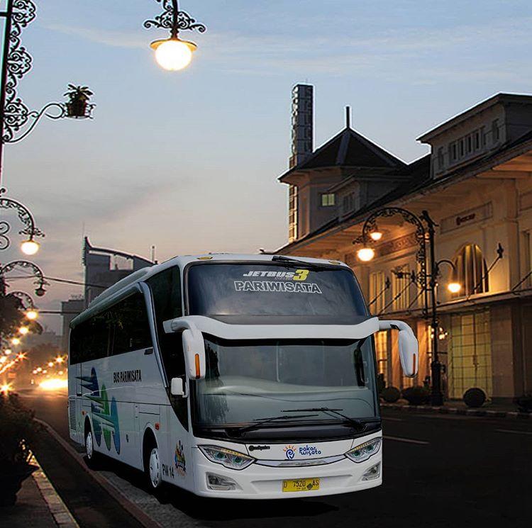 Ilustrasi Transportasi Bus Wisata, sumber ig pakarwisata