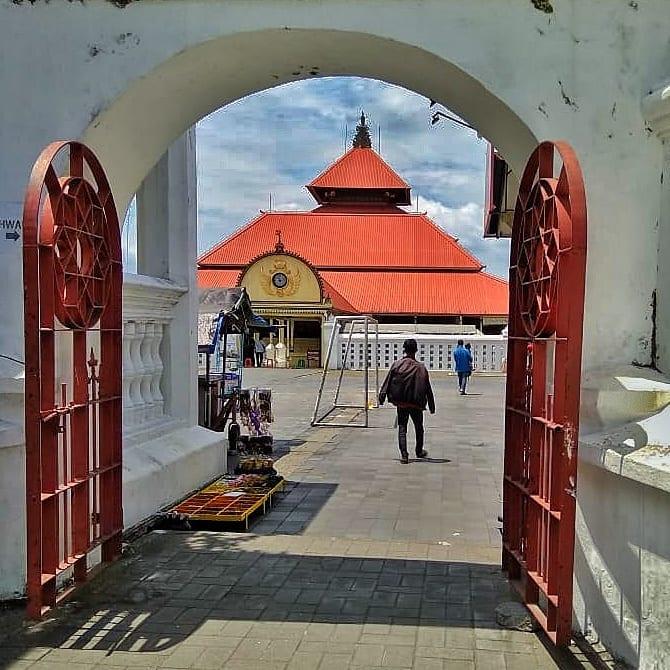 Masjid Gedhe Kauman sumber ig @fathmardotillah