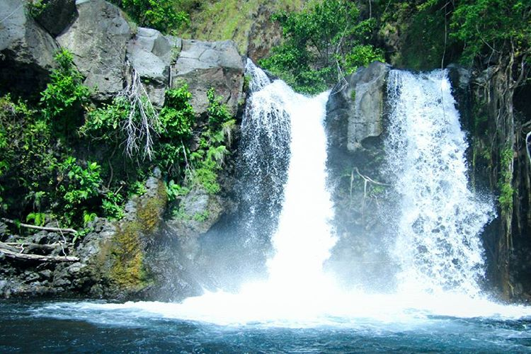 Air terjun Oi Marai Tingkat 2 di Gunung Tambora, sumber ig @daffawirabuana