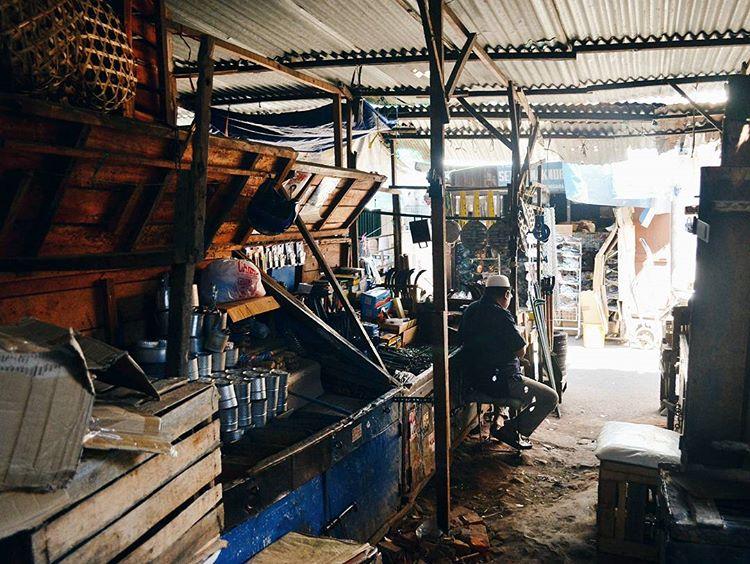 Salah satu sudut di pasar Cakranegara Lombok, sumber ig @zhengllwei