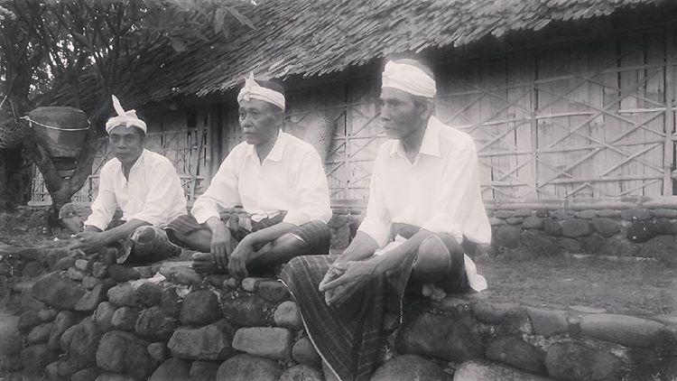 Kyai adat di masjid Bayan Beleq Lombok, sumber ig @sutrakusuma