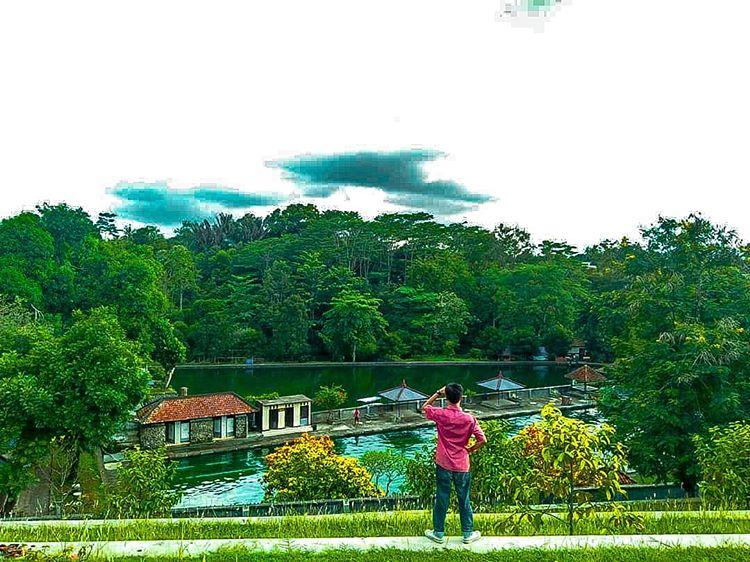 Mengunjungi Replika Gunung Rinjani Di Taman Narmada Lombok Go Trip Indonesia