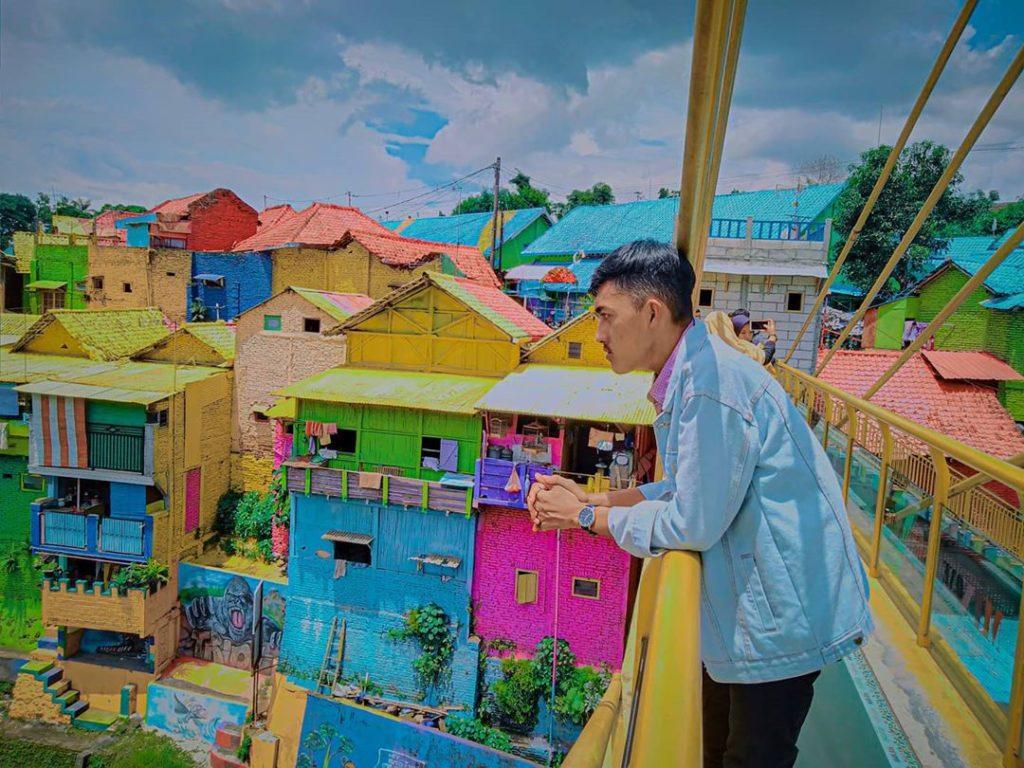 Kampung Warna-Warni Jodipan Malang, Sumber IG @aripvm