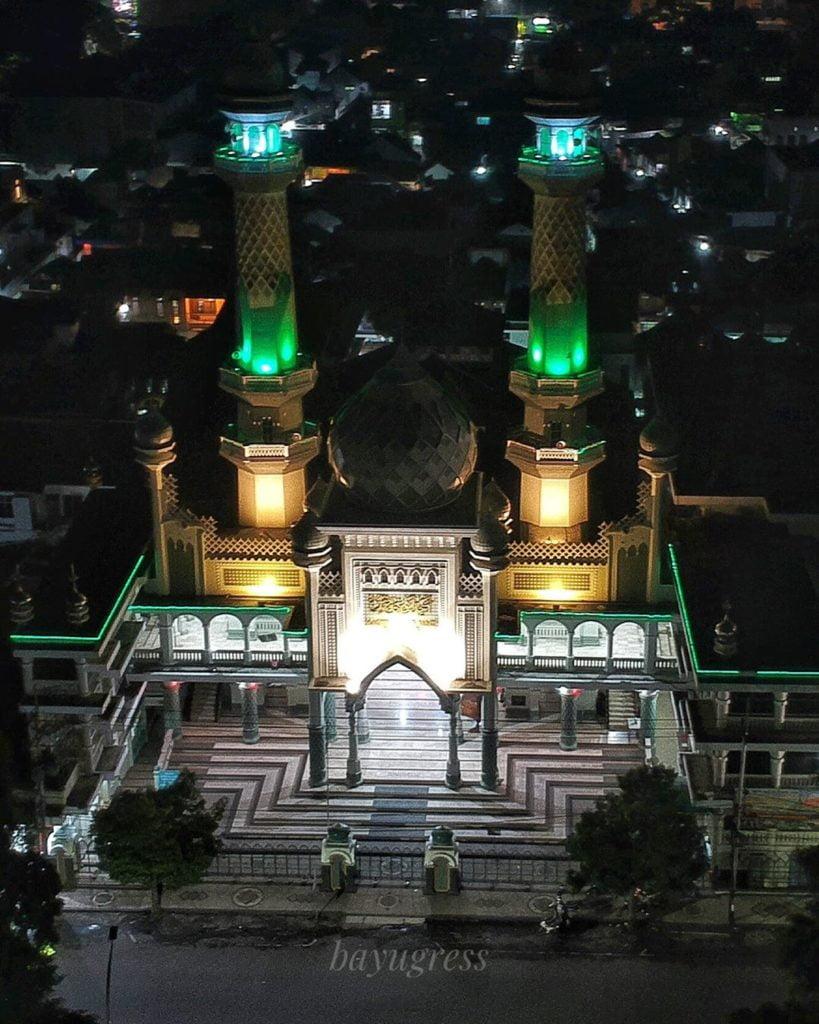 Masjid Agung Jami' Malang, Sumber IG @bayugress
