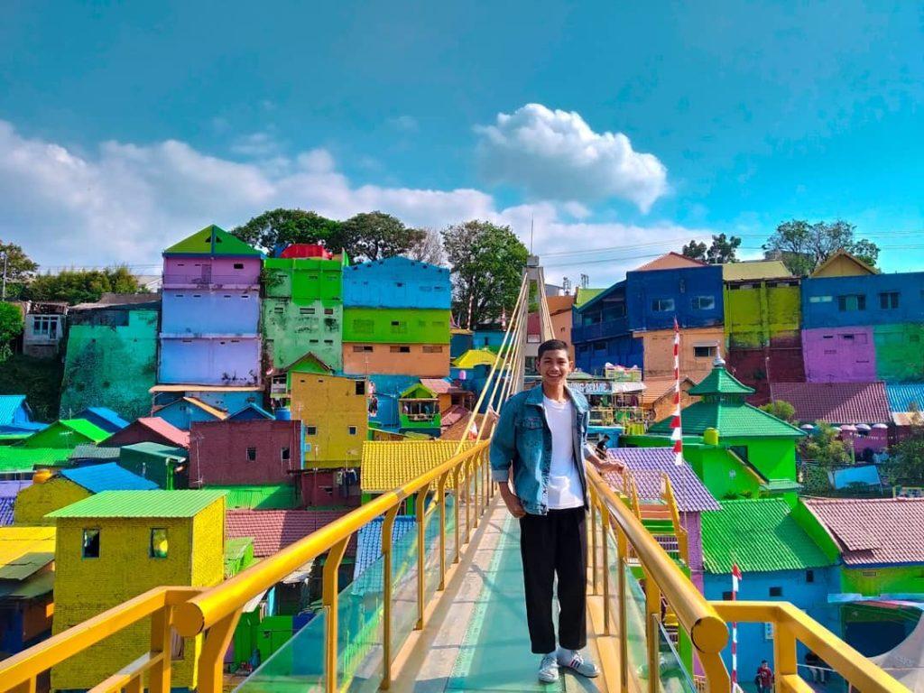 Kampung Warna-Warni Jodipan Malang, Sumber IG @julianto_nobertus
