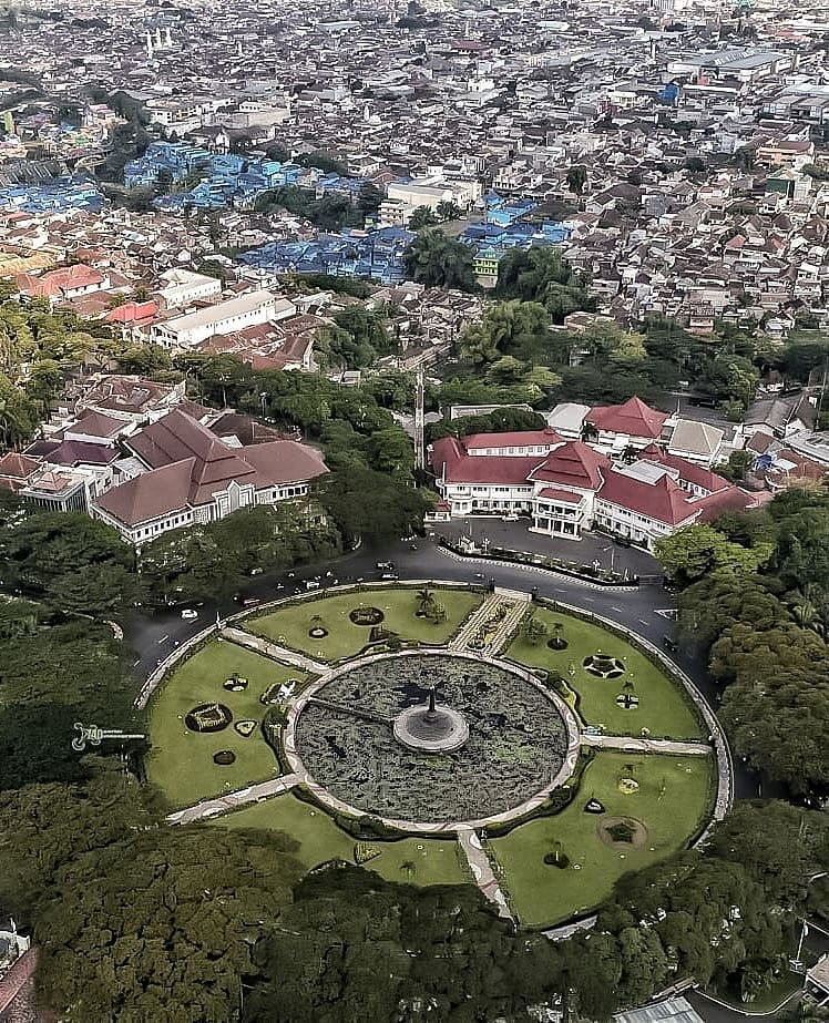 Sumber IG @740aerialvideography