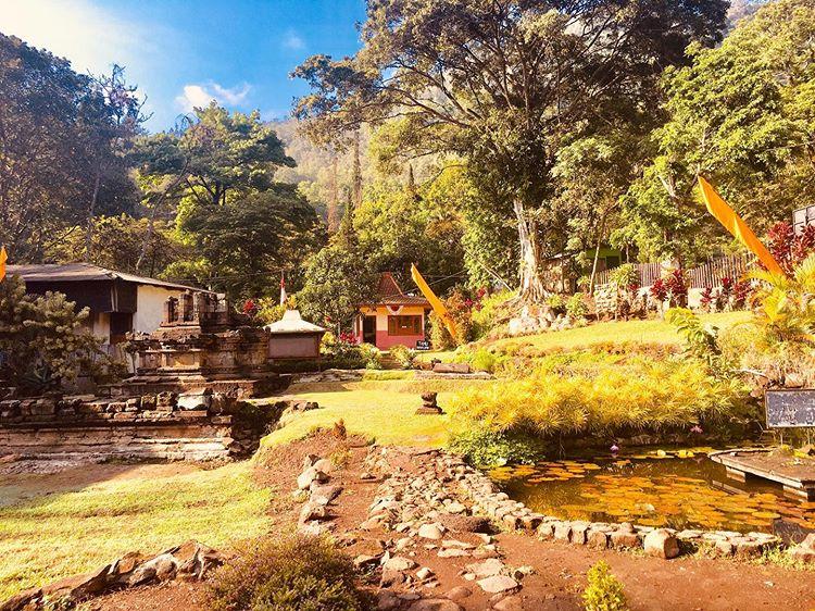 Foto wisata candi Songoriti di Batu Malang, ig baaaaamss