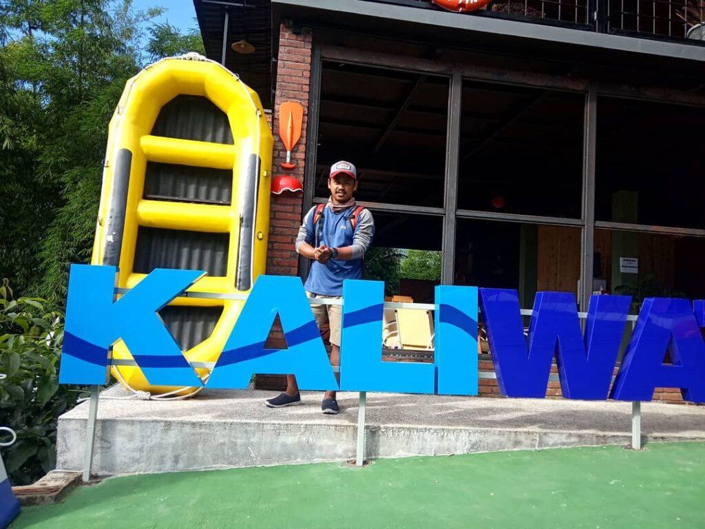 Resort di Kaliwatu Rafting, ig @lasong224