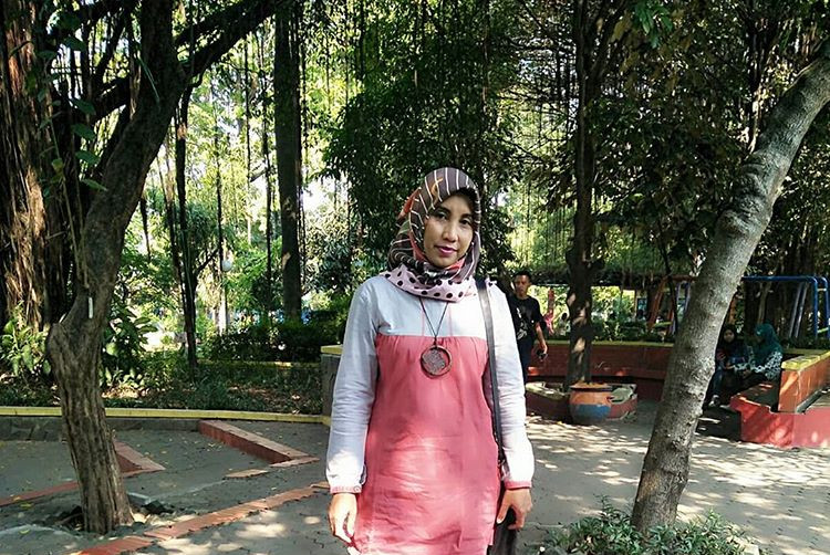 Suasana di kebun bibit Ngagel Surabaya, ig eni_iswati