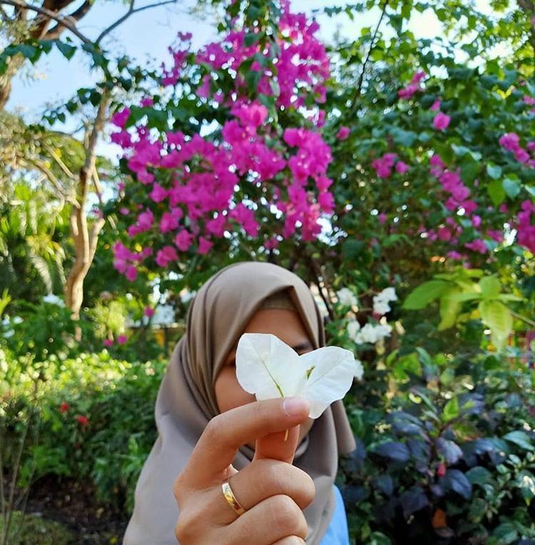 Taman bunga di kebun bibit Surabaya, ig tyasswift