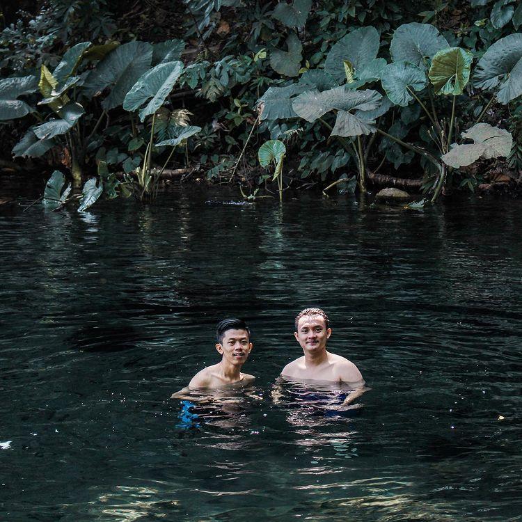 Berenang di Sumber Sirah Malang, ig @frdsadamsyah