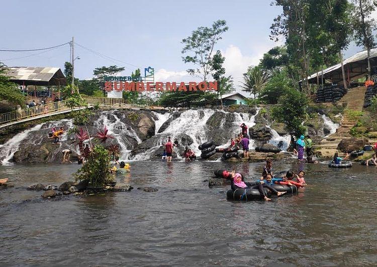 Foto kegiatan di Sumber Maron Malang, ig jelajahngalam