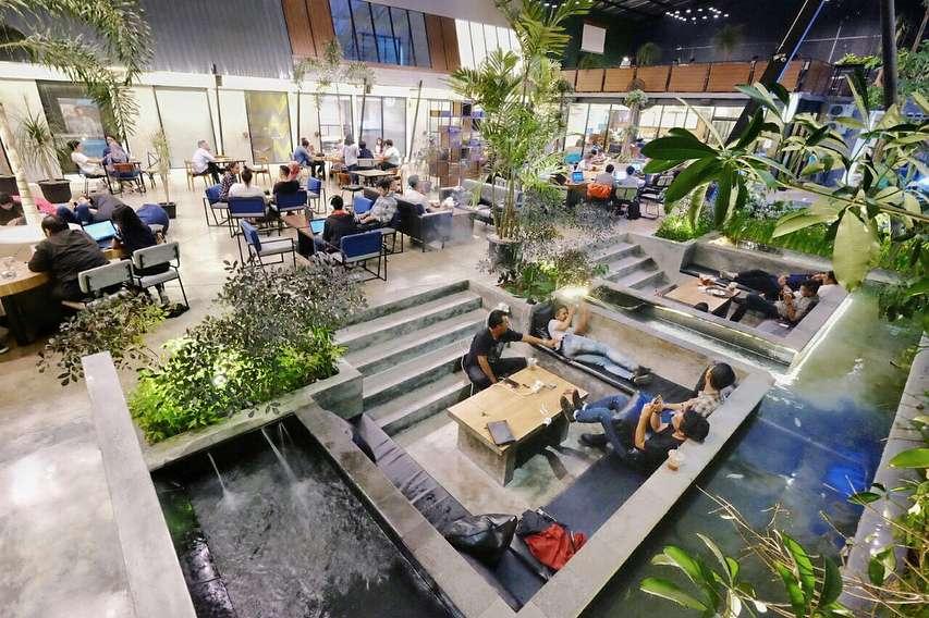Salah satu cafe hits di Jogja, foto: liburdulu.com