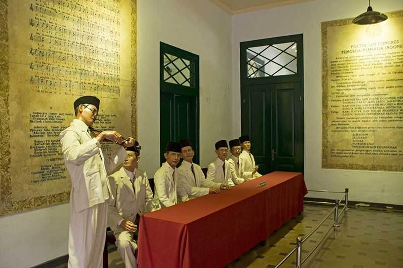 Salah satu bagian dari Museum Sumpah Pemuda. Sumber : Google